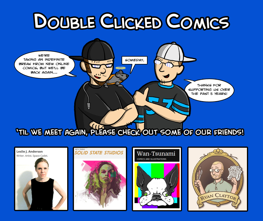 Double Clicked Comics!